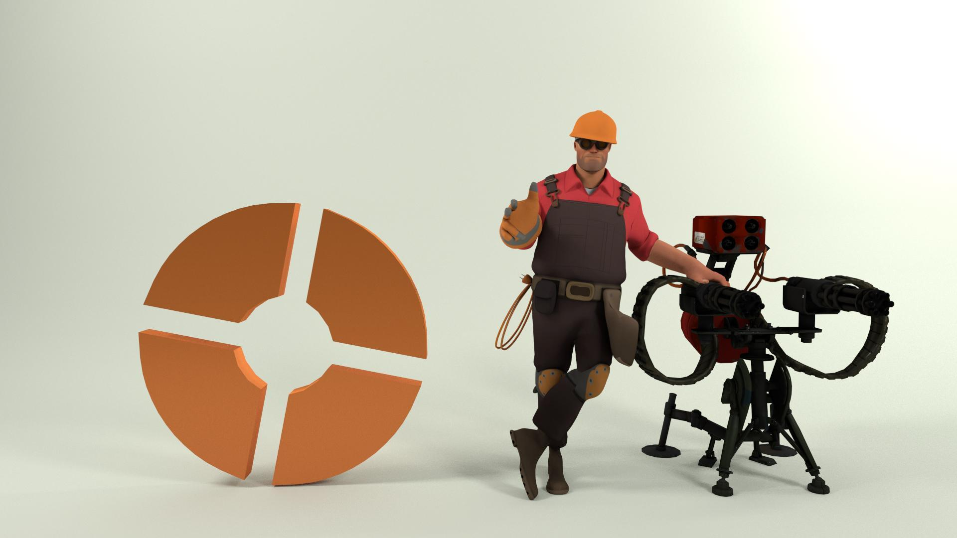 team fortress 2 engineer wallpapers wallpaper cave. Black Bedroom Furniture Sets. Home Design Ideas