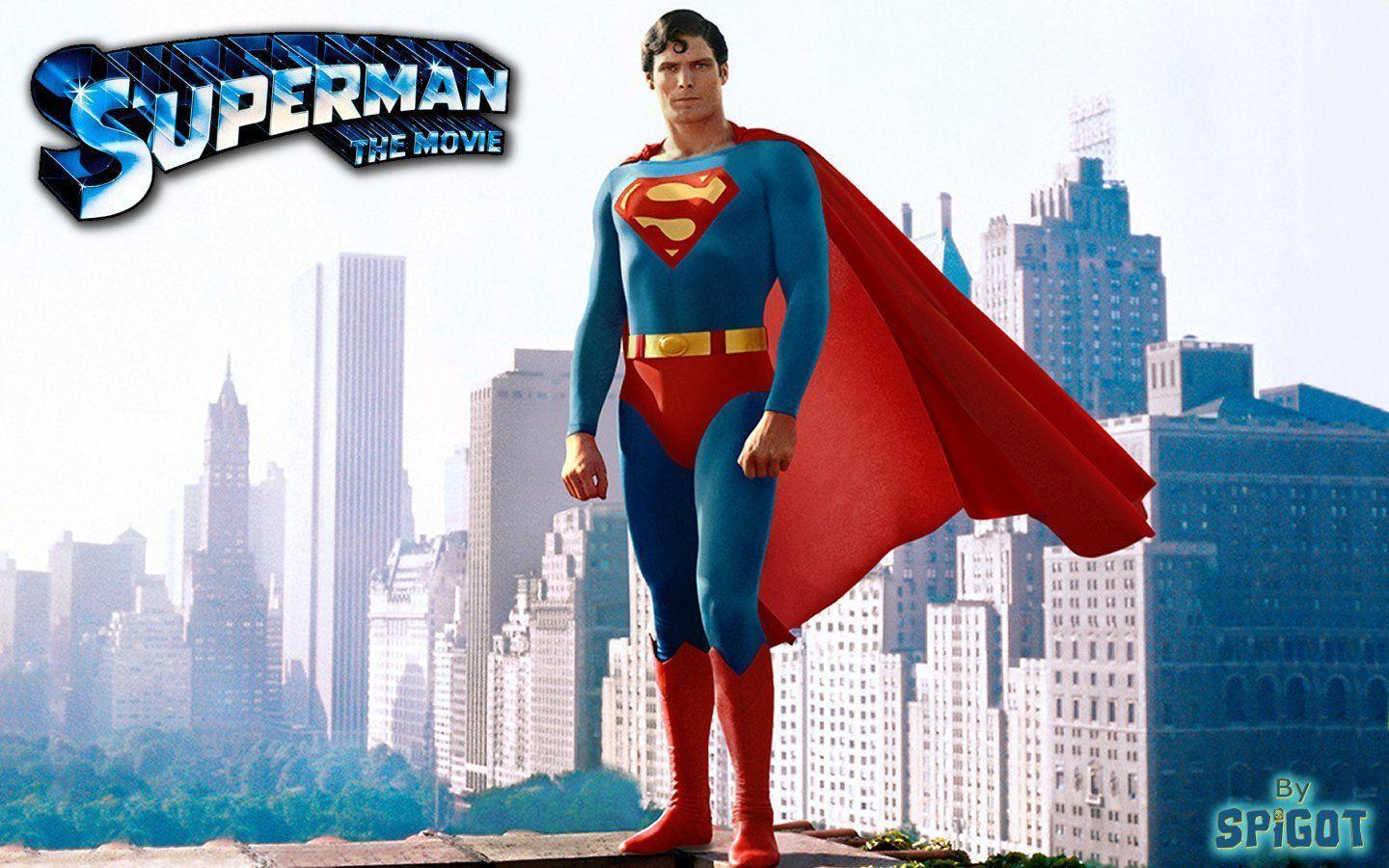 Pix For > Christopher Reeve Superman Wallpaper