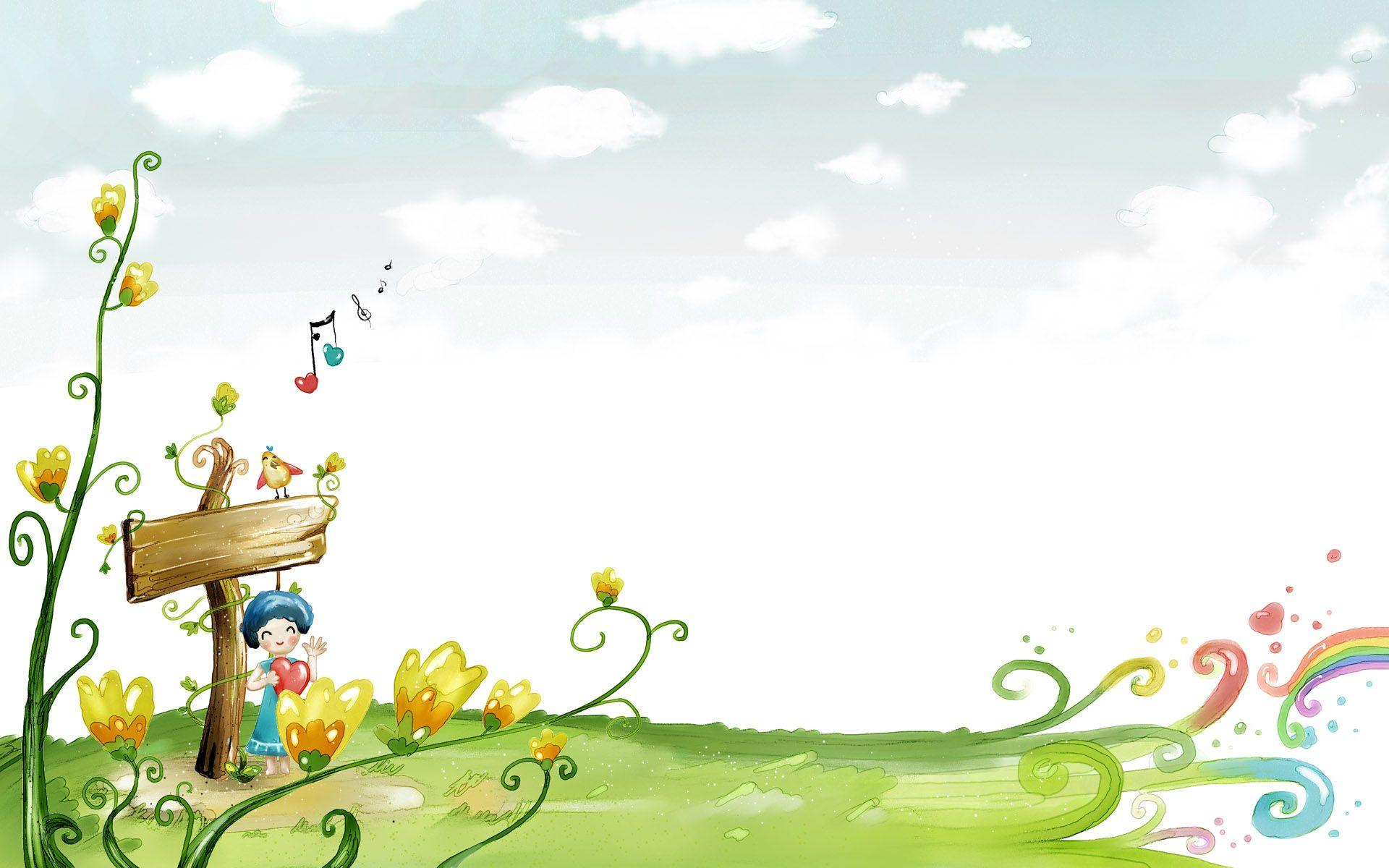 Cute Cartoon Backgrounds Free Download: Cartoon Backgrounds Image