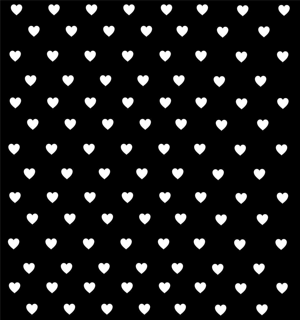 Wallpapers For > Black And White Hearts Backgrounds