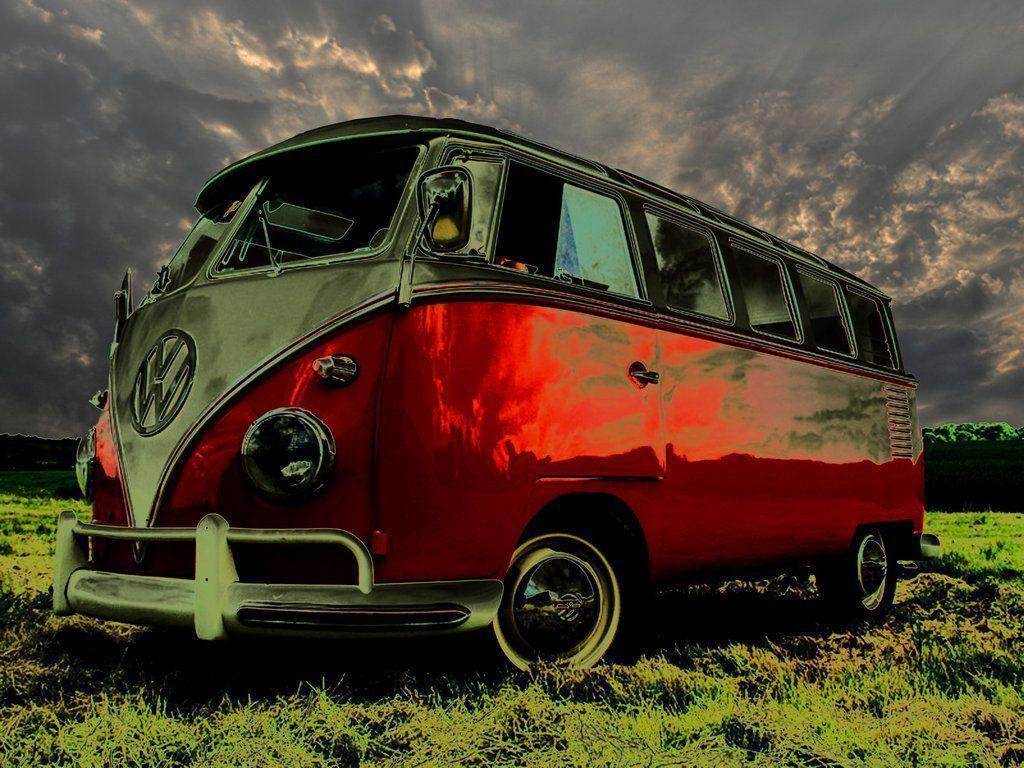 Volkswagen Bus Wallpapers Wallpaper Cave