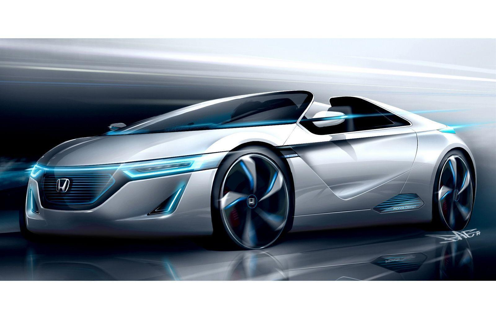 New Honda Concept Car Full Hd Wallpaper 1600x1067PX ~ Wallpaper ...