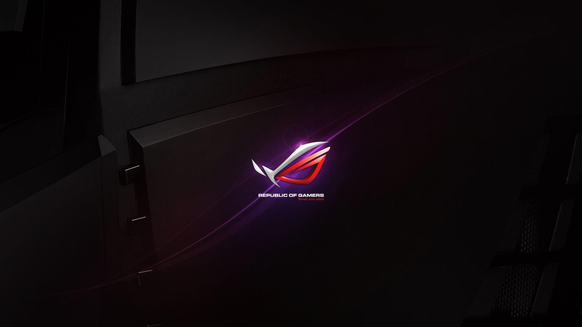 Asus Republic Of Gamers Wallpapers Wallpaper Cave