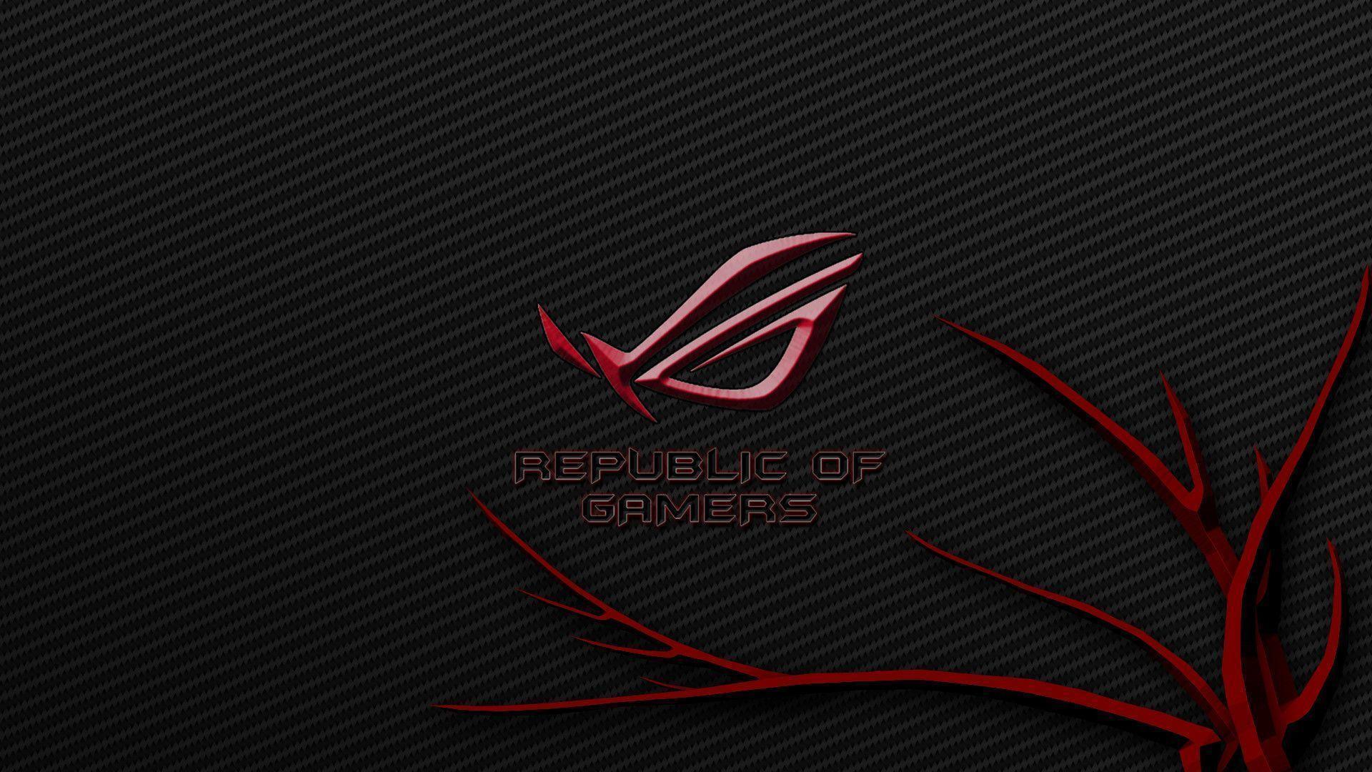 Red Asus Wallpaper: Asus Republic Of Gamers Wallpapers