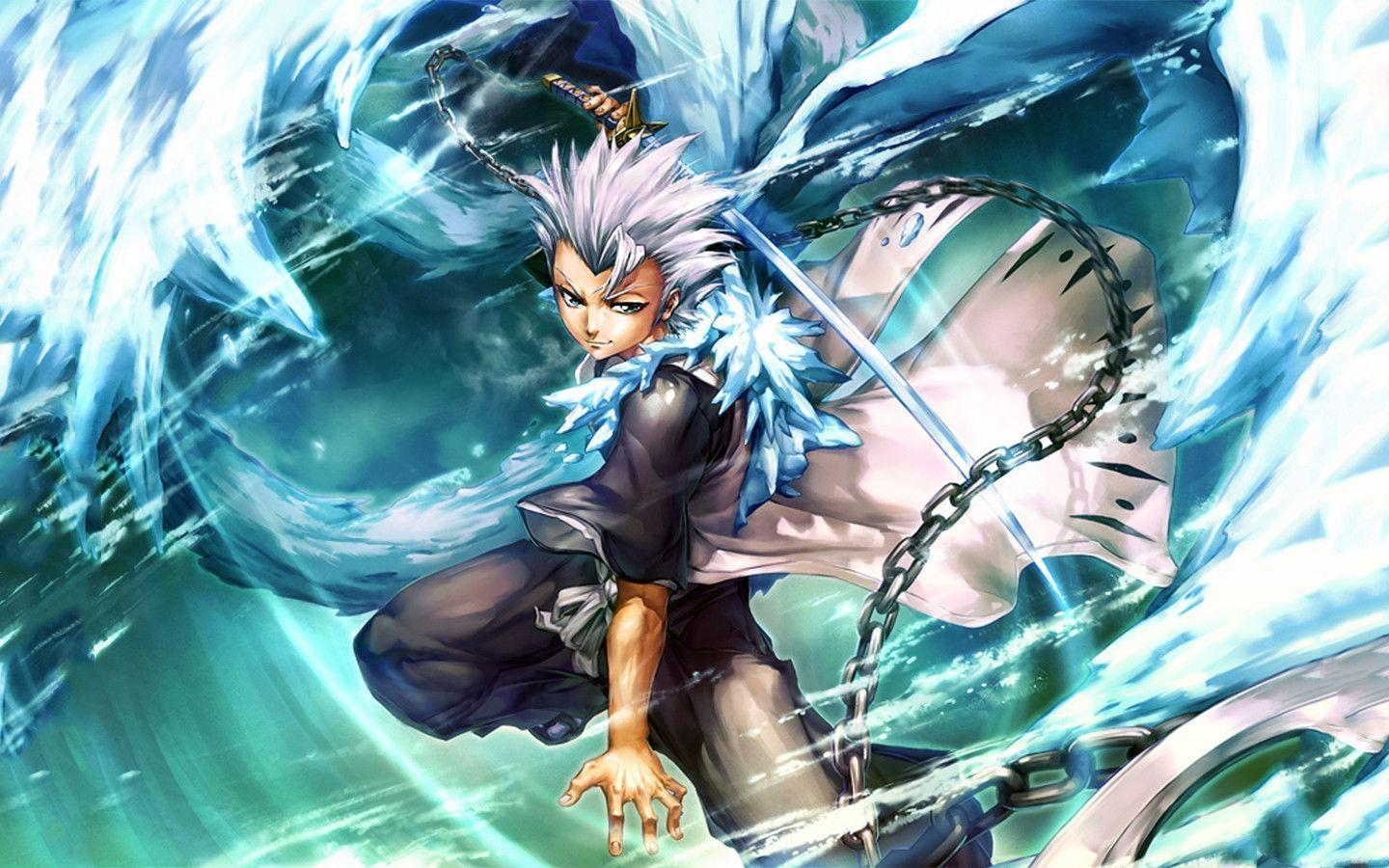 Toshiro Hitsugaya Bleach Desktop And Mobile Wallpaper Wallippo