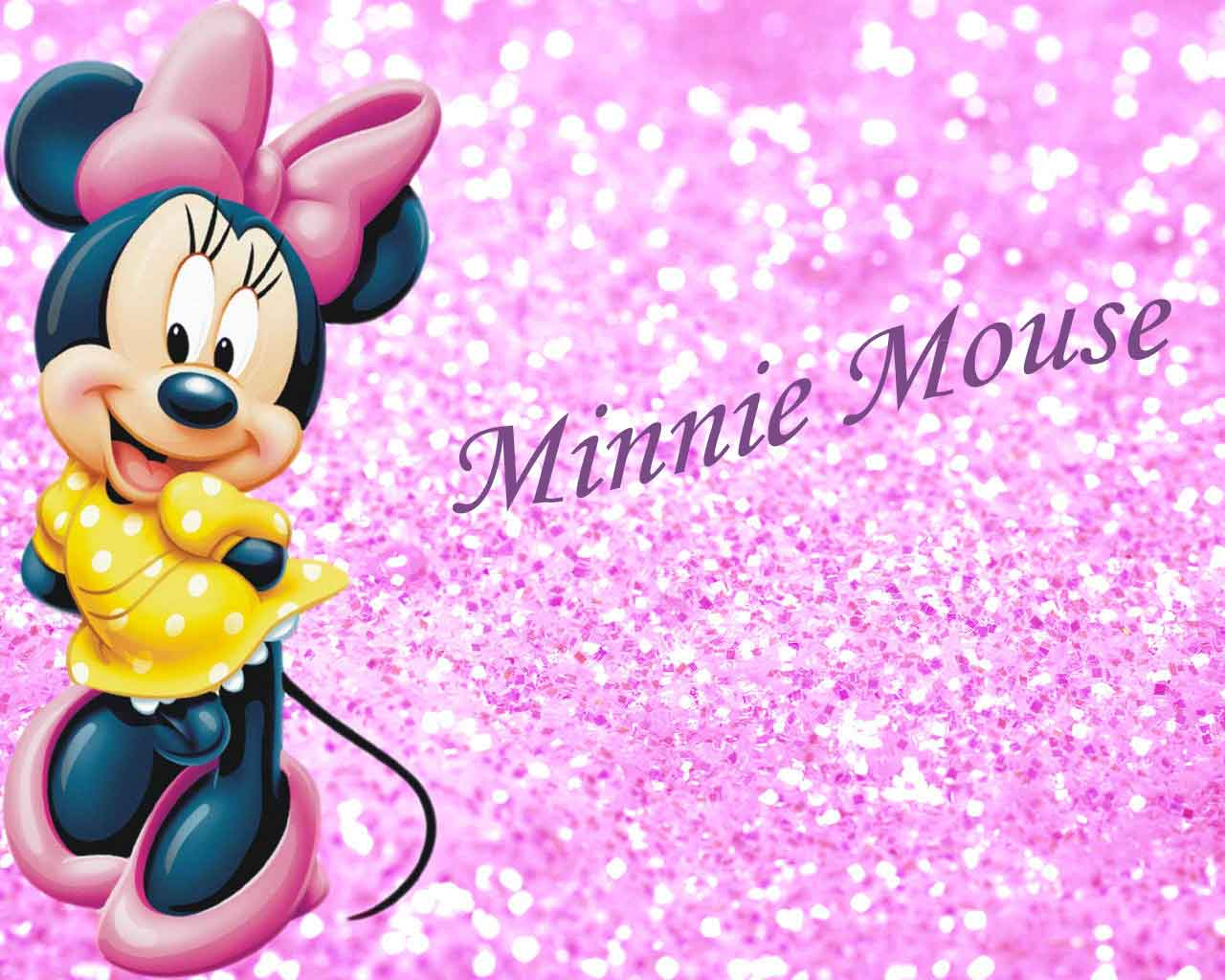 Wallpapers For > Pink Minnie Mouse Wallpaper