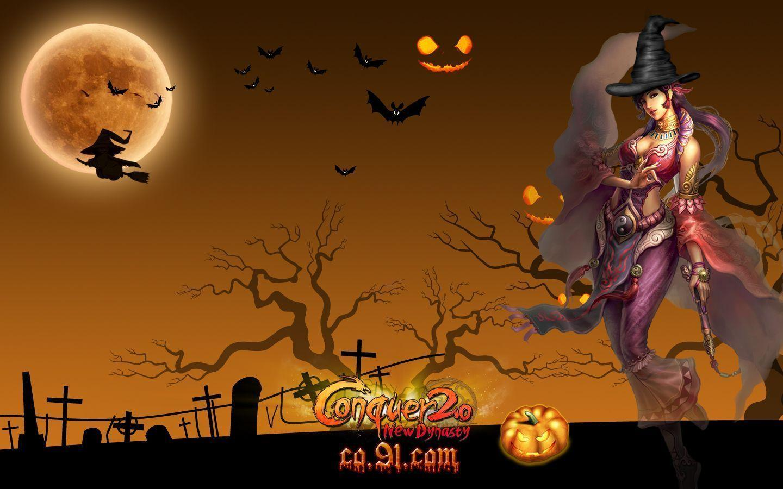 Halloween Free Wallpapers - Wallpaper Cave