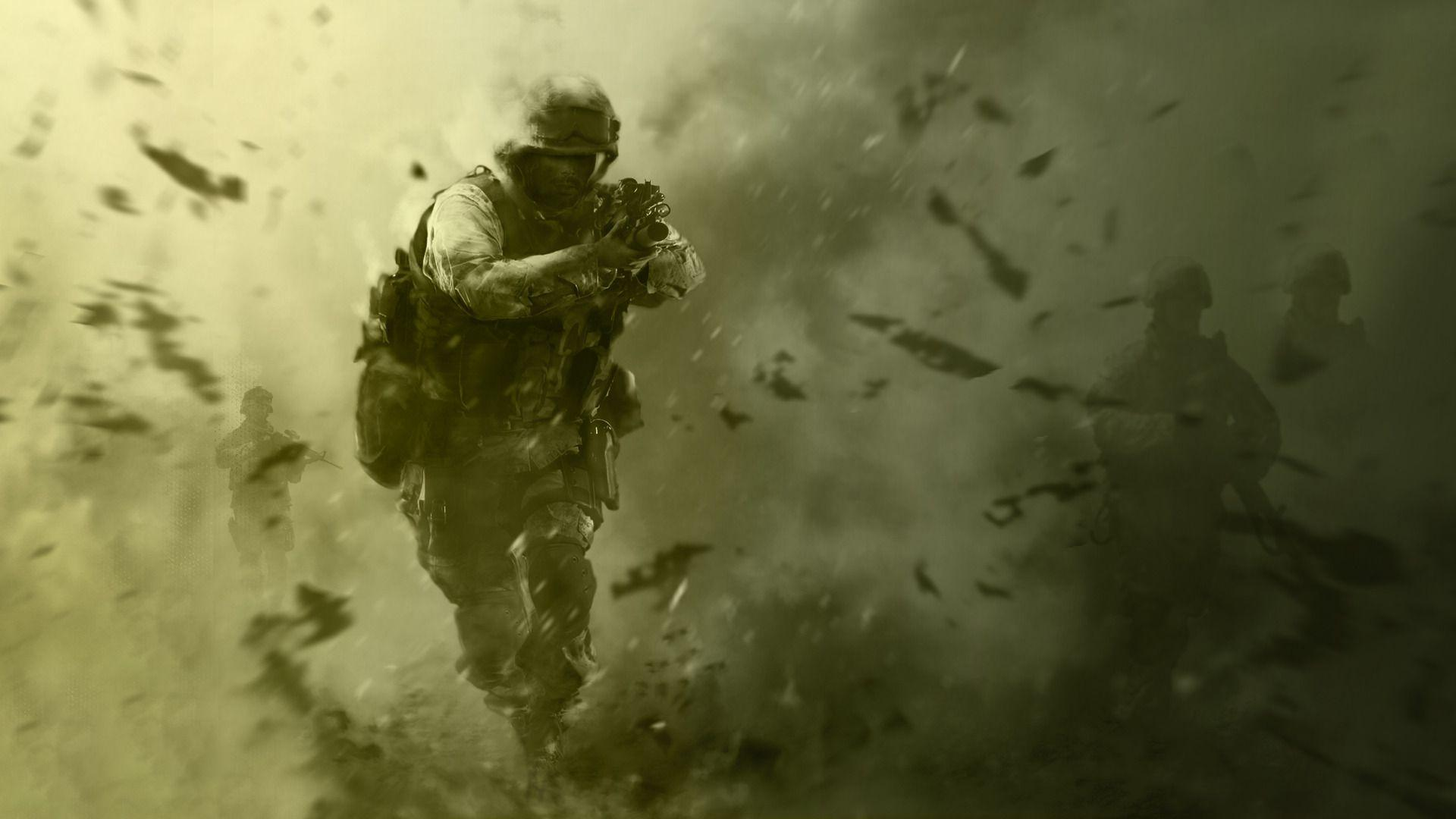 Call of duty 4 wallpapers wallpaper cave for Cool modern wallpapers