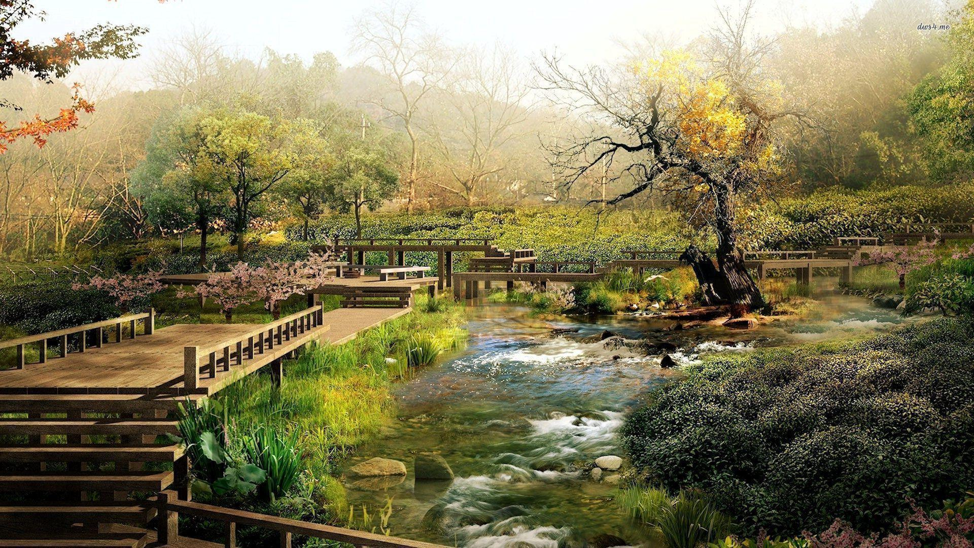 Japanese Garden Wallpapers