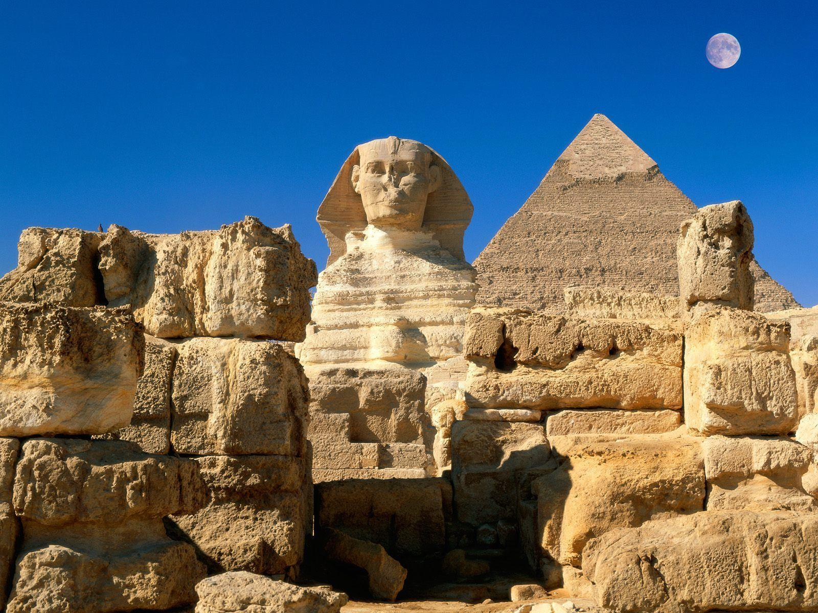 Great Sphinx Giza Egypt Wallpapers