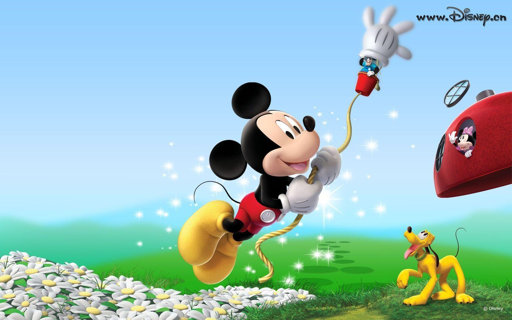 Mickey mouse backgrounds wallpaper cave for Wallpapers animados hd