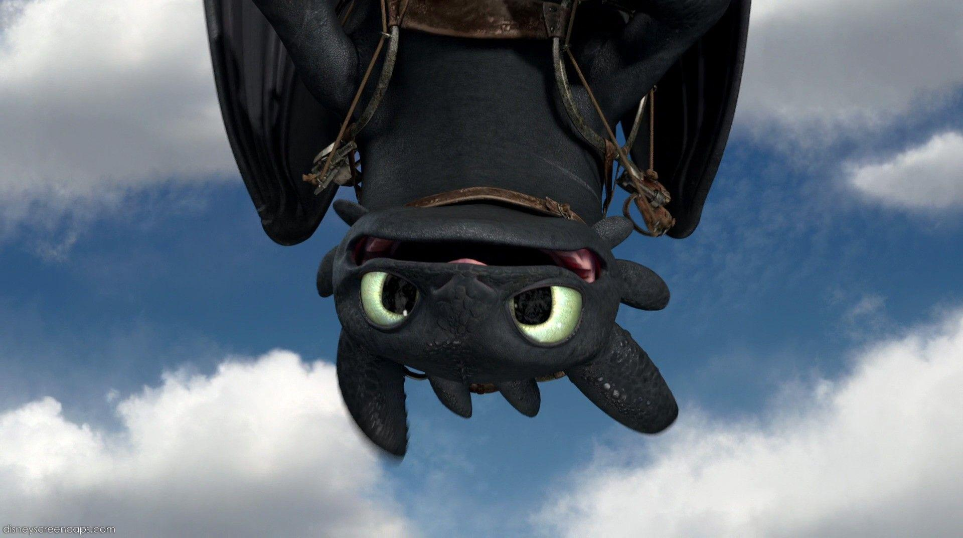 httyd toothless upside down wallpaper - photo #2