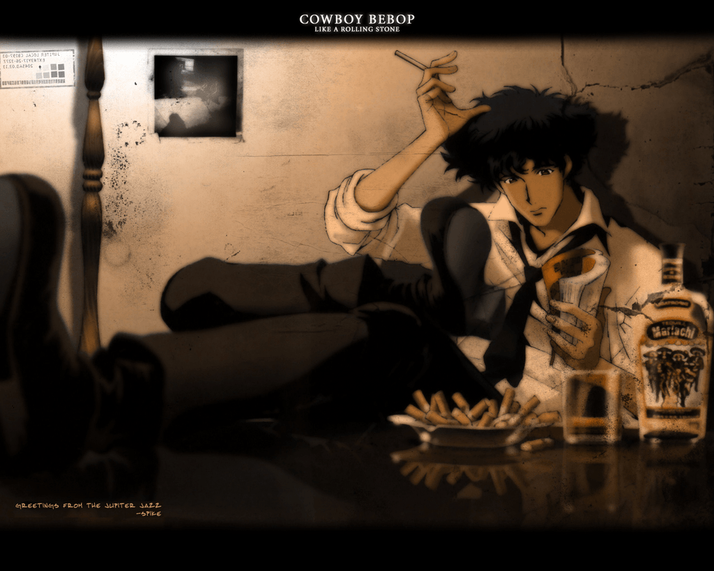Wallpapers For > Cowboy Bebop Wallpapers Spike