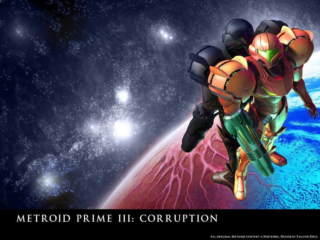 Wallpapers For > Metroid Prime 3 Wallpapers