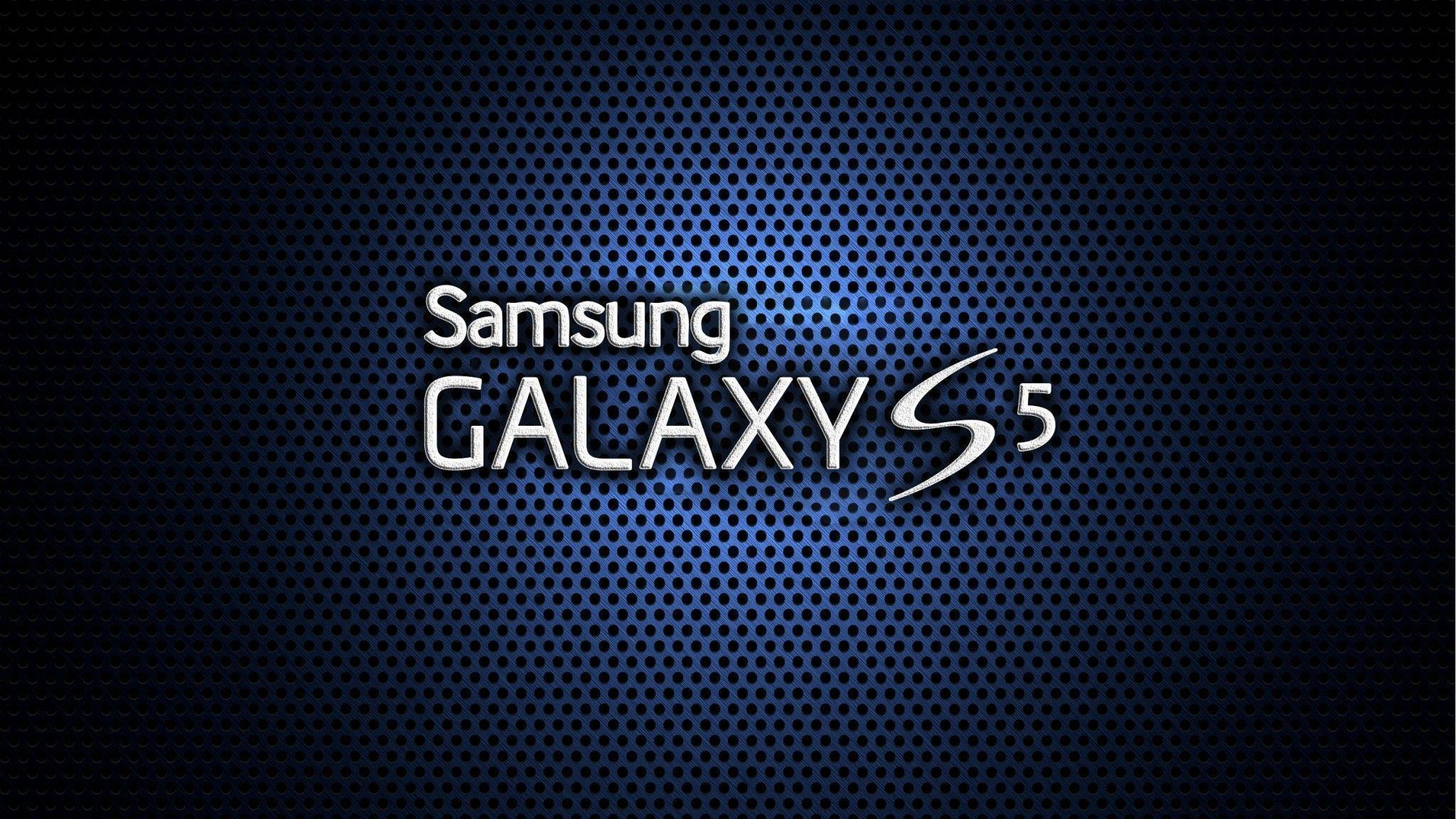 Samsung Galaxy S5 Logo Wallpaper Wide or HD | Computers Wallpapers