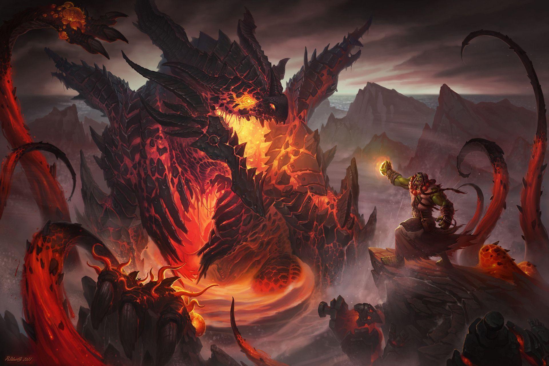 Warlocks Dragons: Warlock Wallpapers