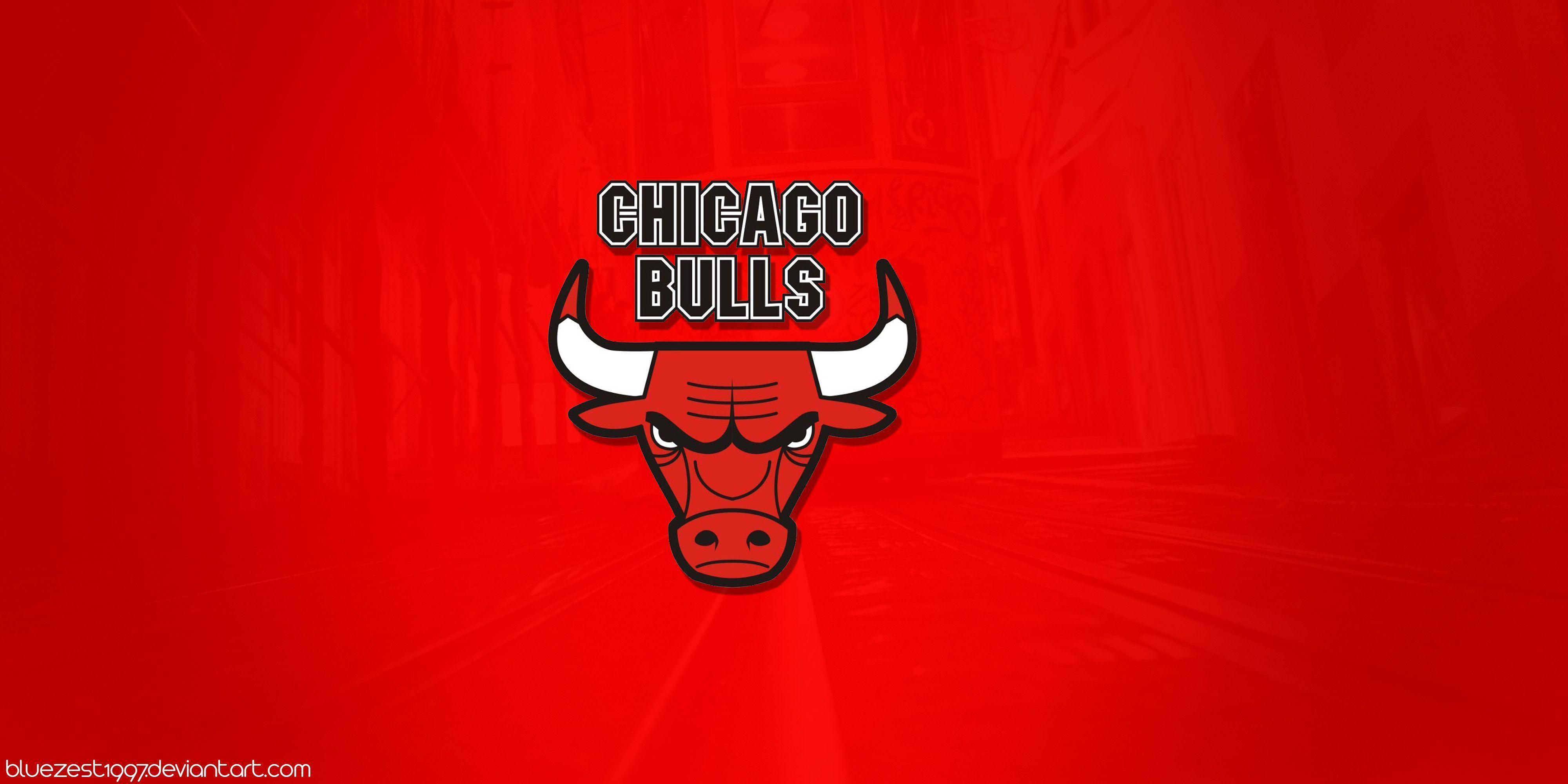 Red Chicago Bulls Logo Wallpaper #5300 Wallpaper | Wallshed.
