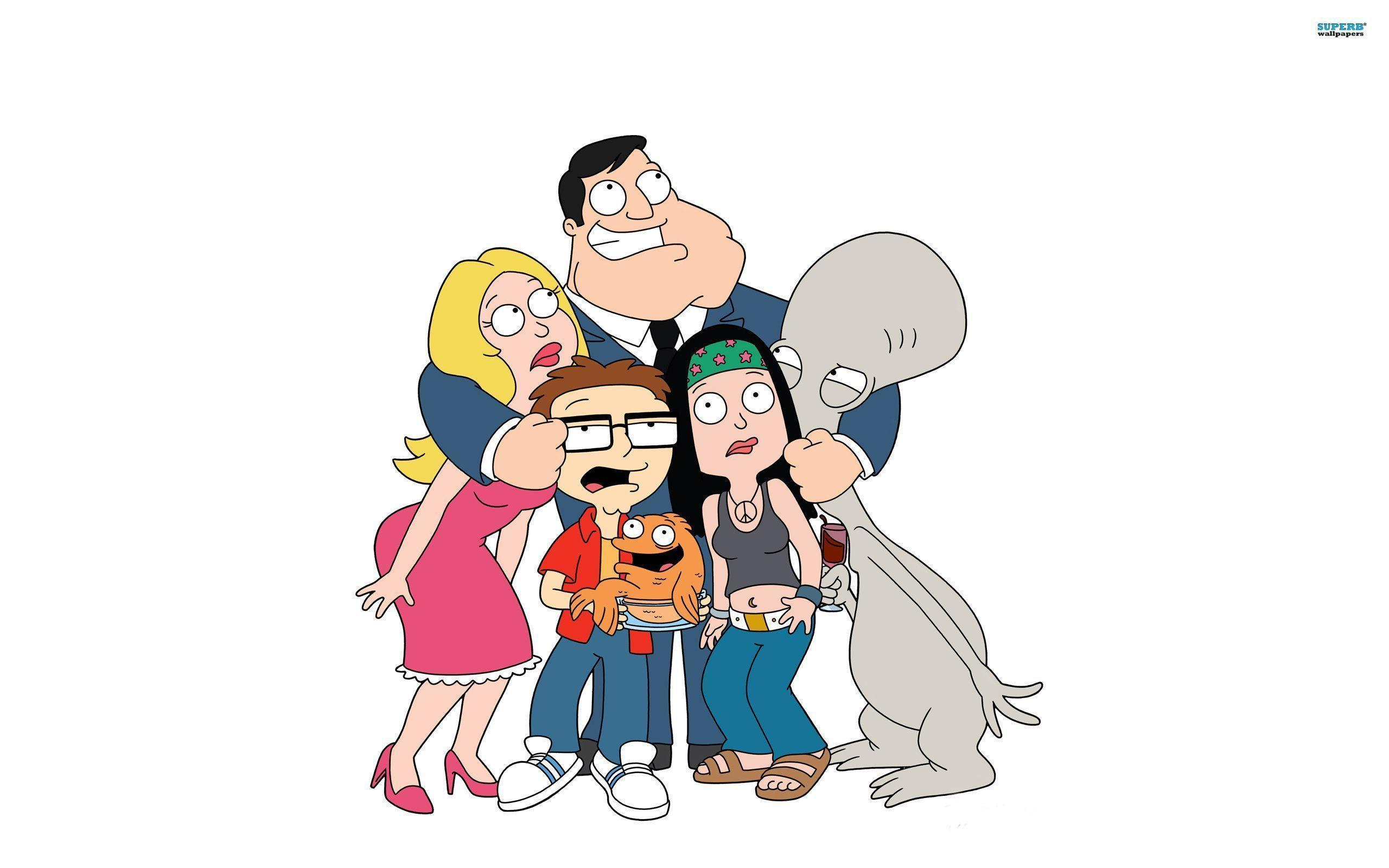 American Dad Hd Wallpaper 39942 in Movies - Telusers.com