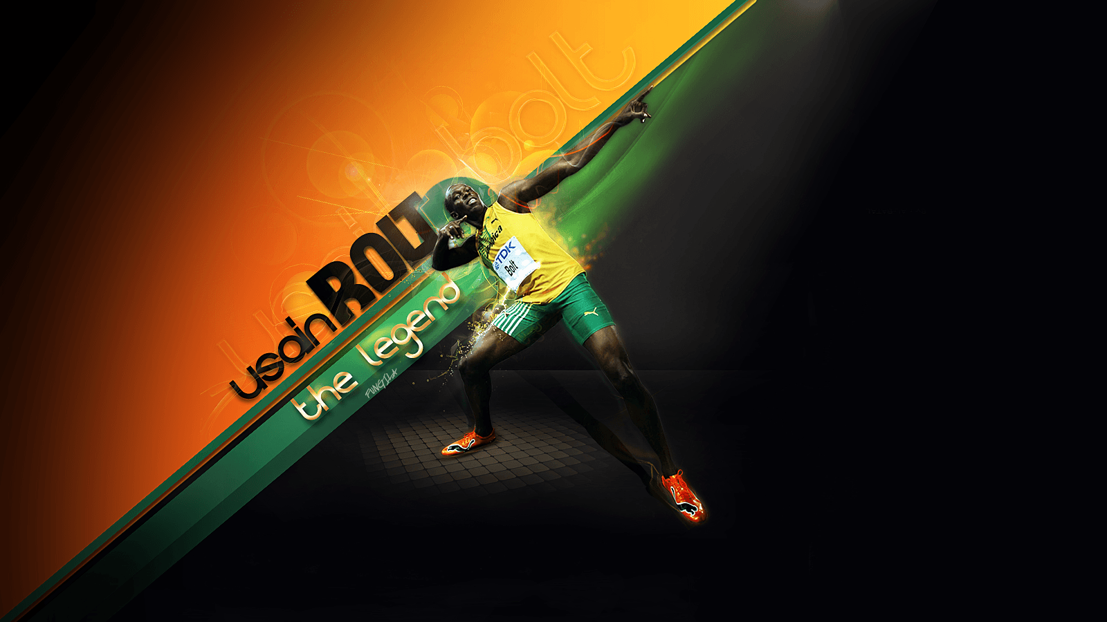 usain bolt by fungila on DeviantArt