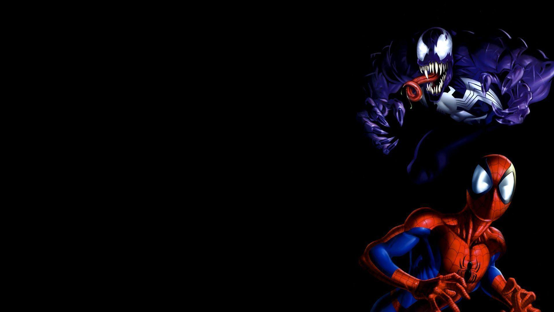 Spiderman Venom Wallpapers - Wallpaper Cave