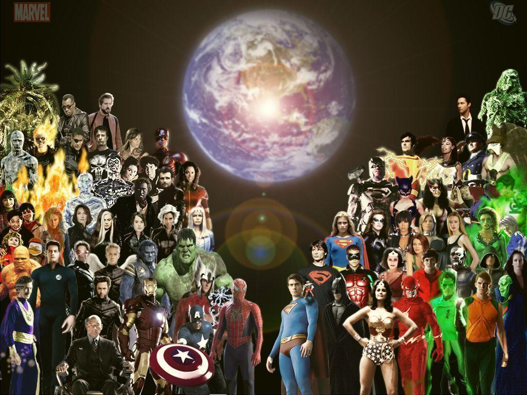marvel dc wallpaper by - photo #31