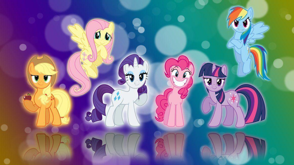 Pictures of My Little Pony Free Screensaver Backgrounds