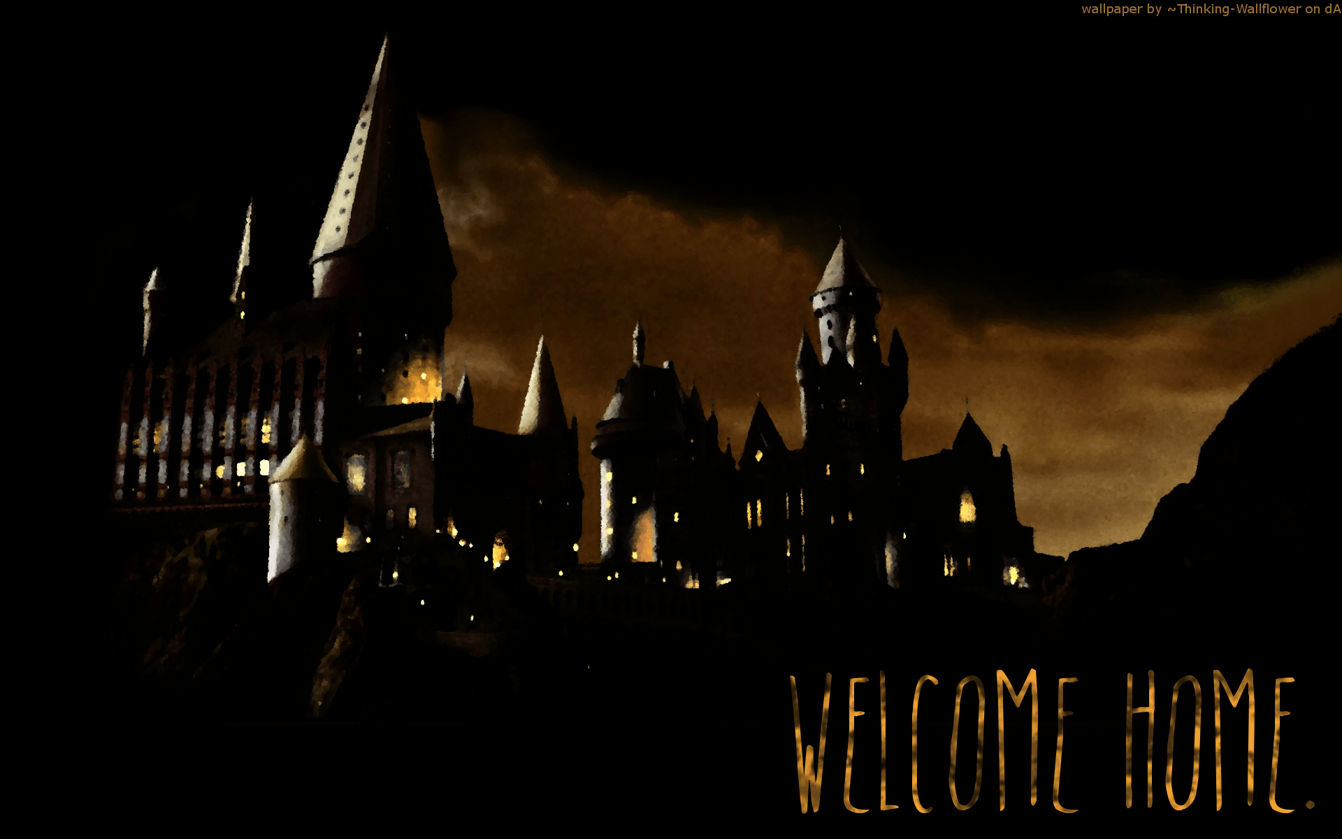 hogwarts wallpaper by sx2 - photo #1