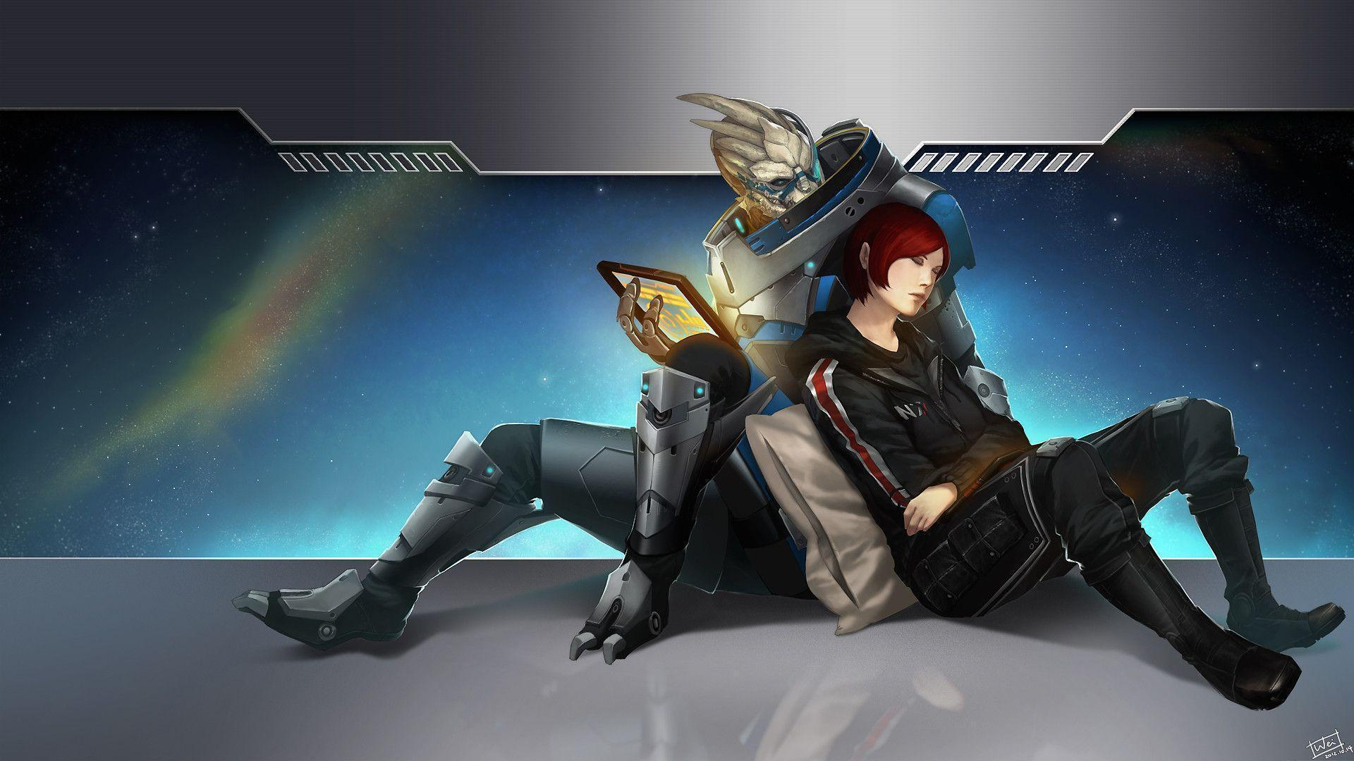 Mass Effect 3 Desktop Backgrounds - Wallpaper Cave