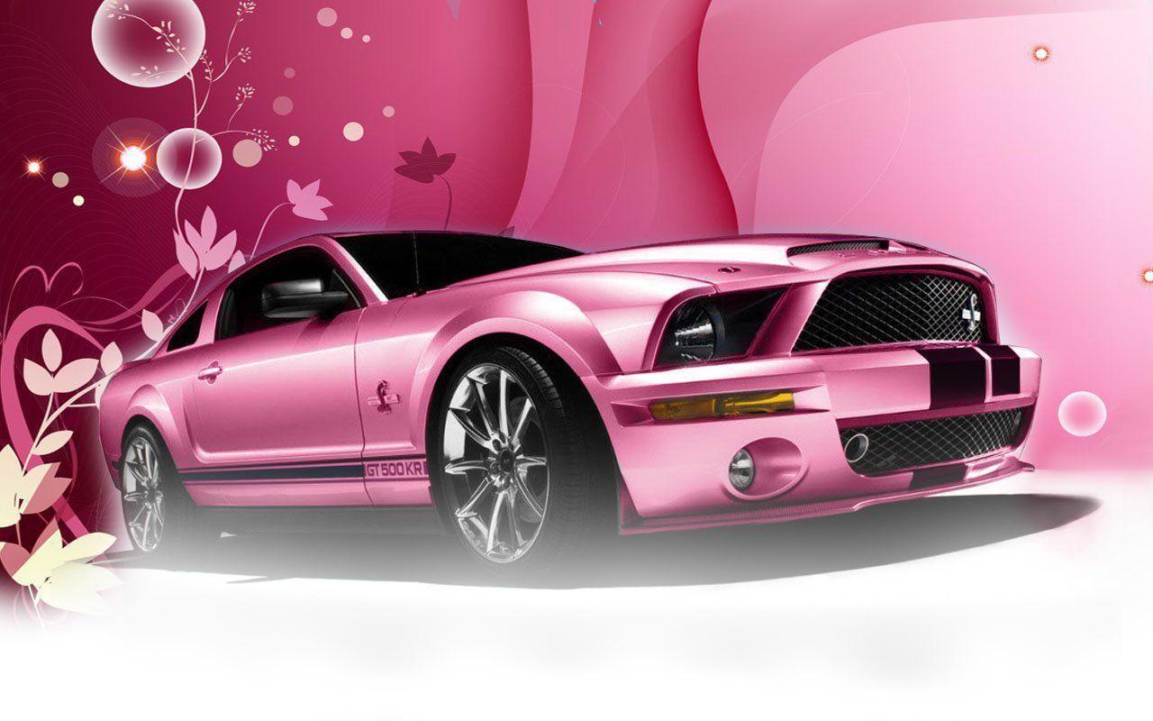 Pink Car Wallpapers Wallpaper Cave