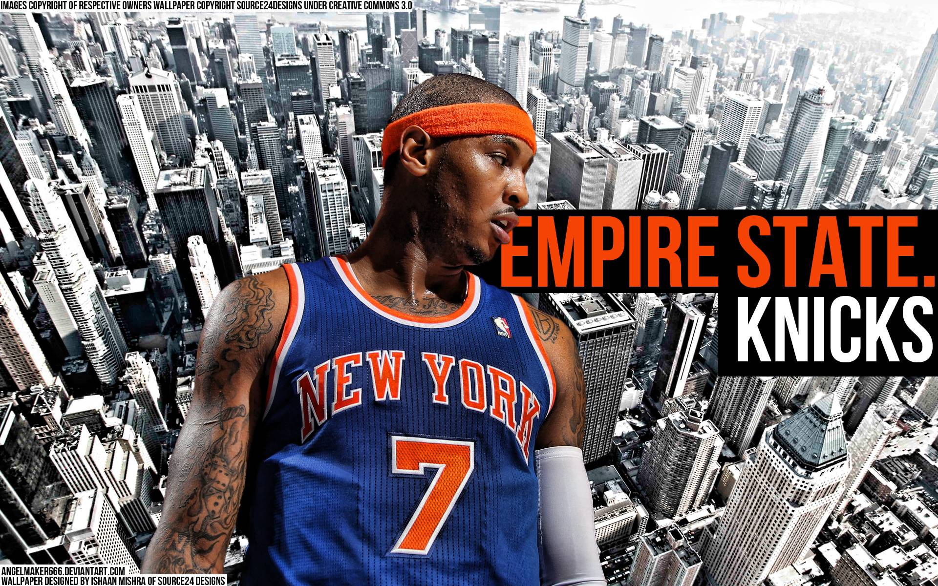 Carmelo Anthony Wallpapers Knicks Wallpaper Cave