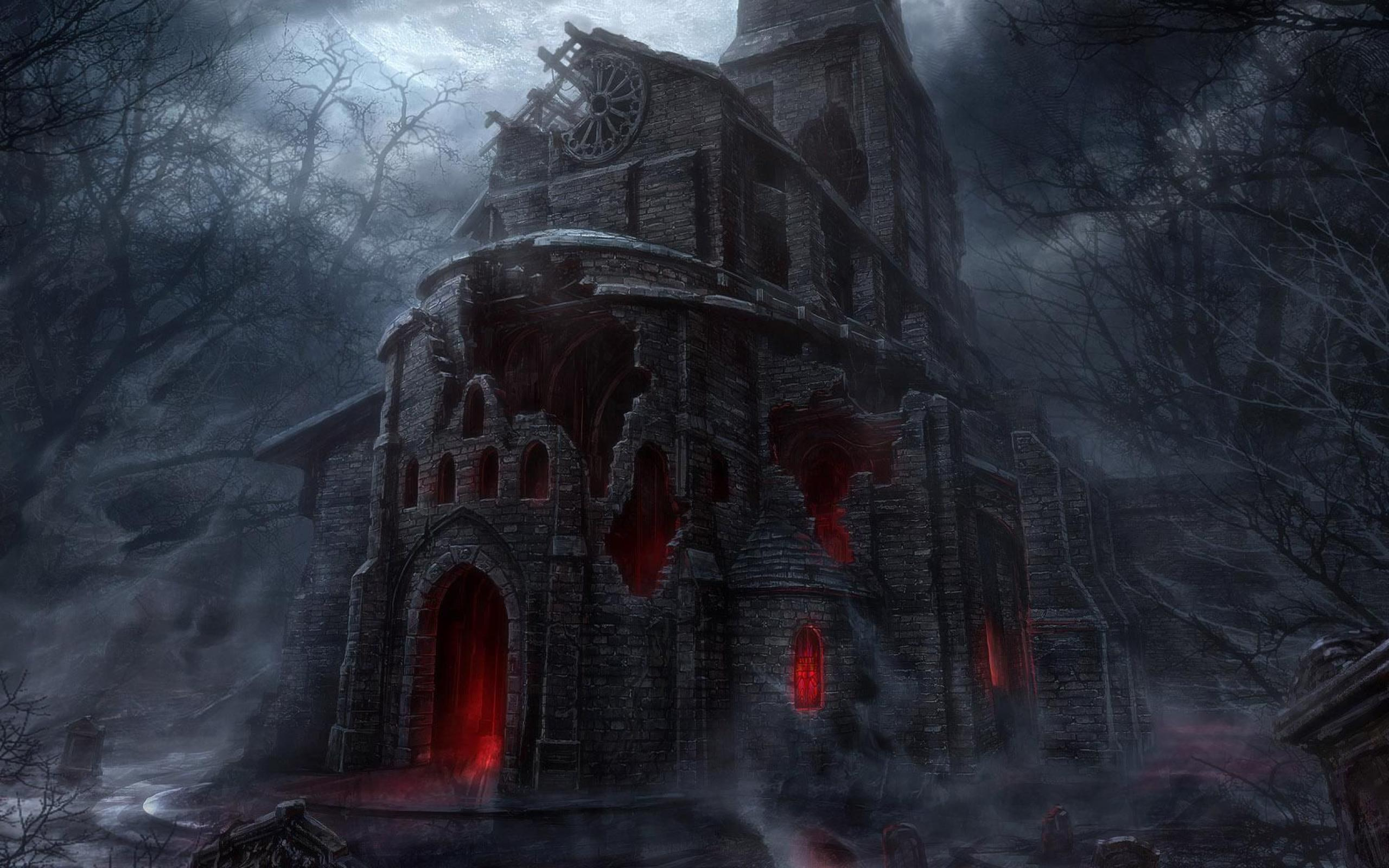 scary gothic rare wallpaper - photo #29