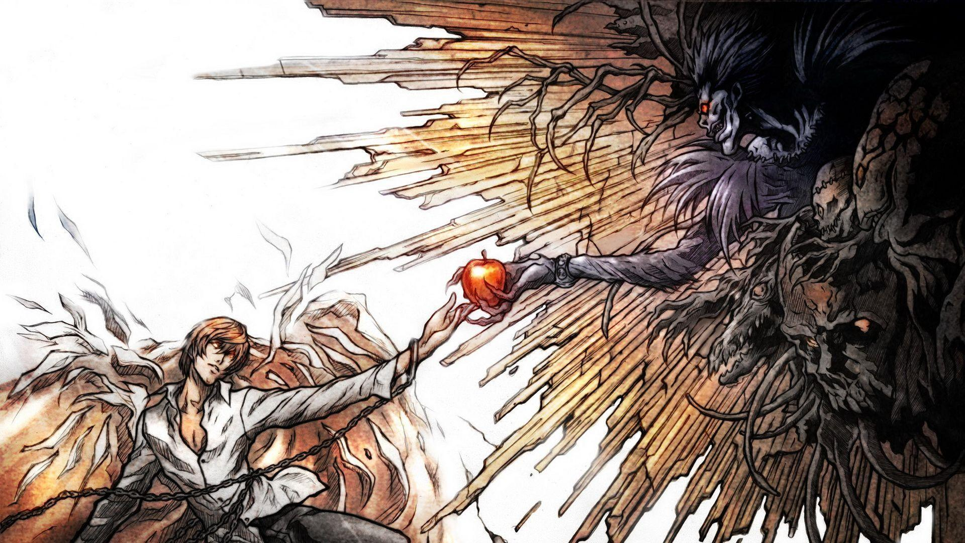 Wallpapers For > Death Note Wallpaper 1920x1080
