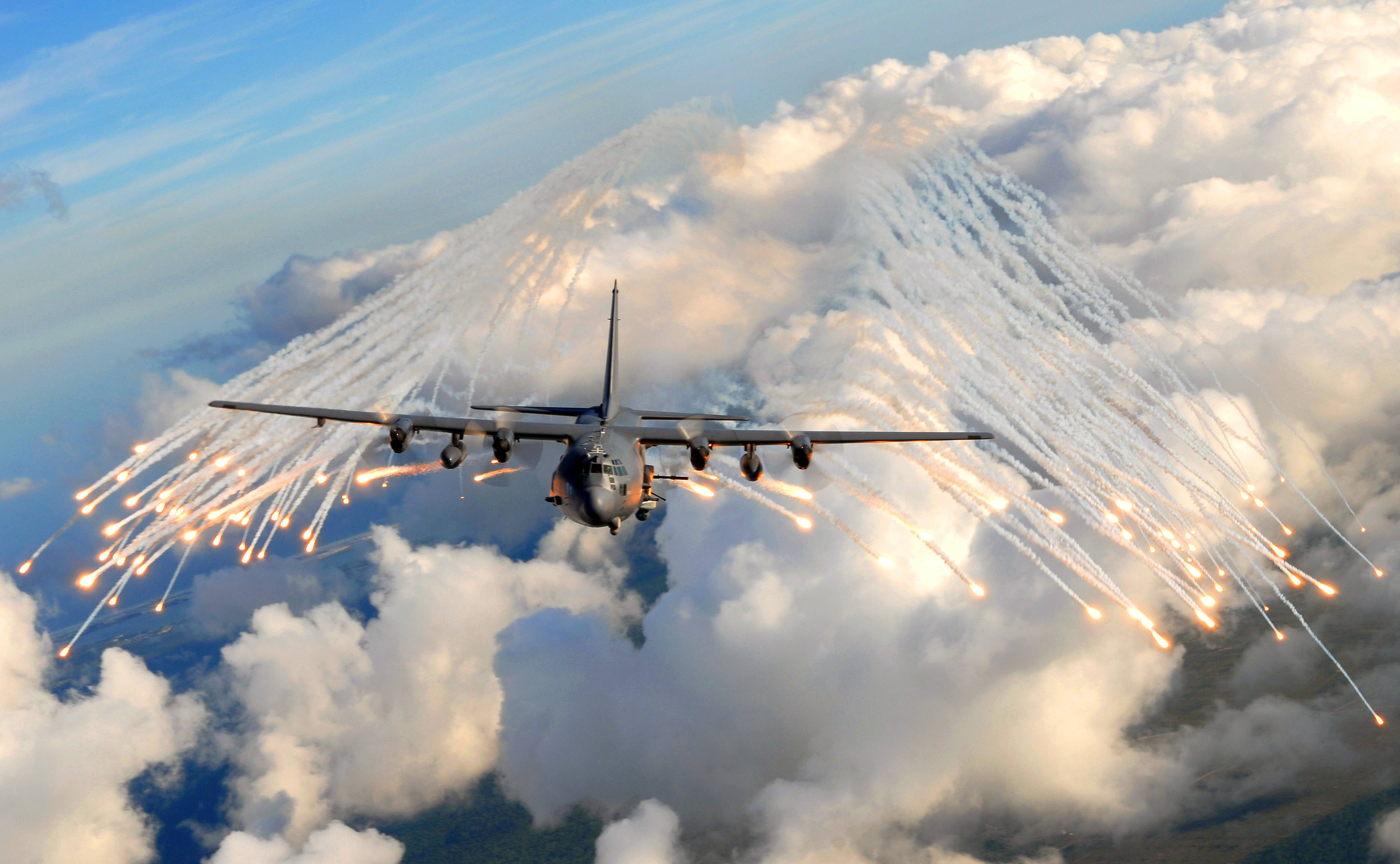 Lockheed AC-130 Wallpapers - Wallpaper Cave