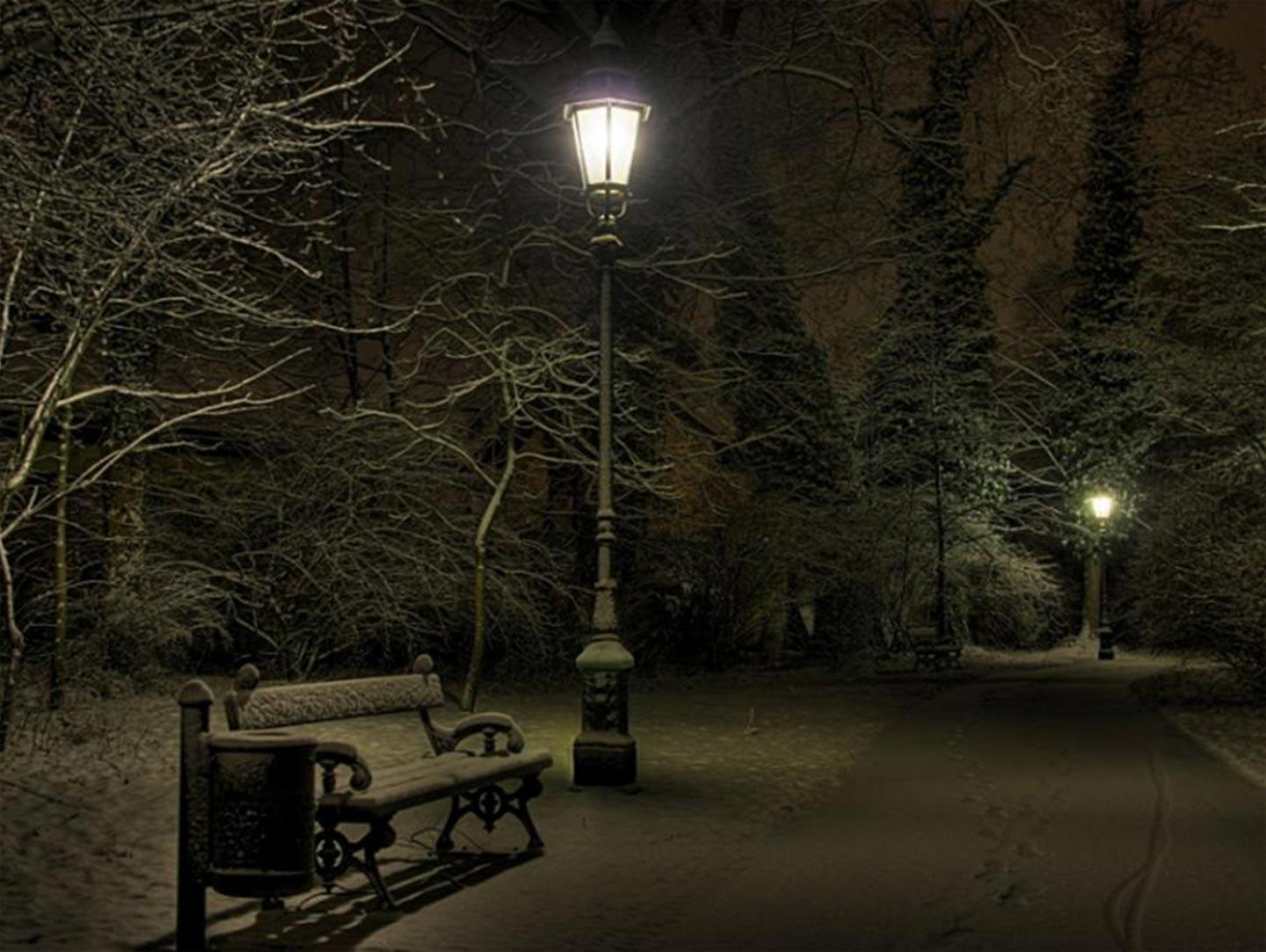 Wallpapers For Gt Winter Night Wallpapers Hd