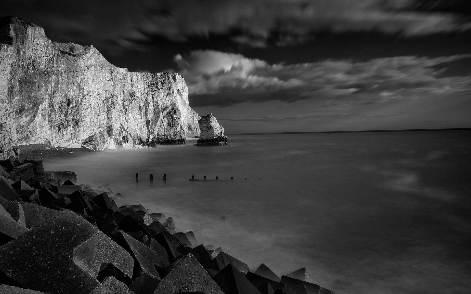 black and white nature wallpapers wallpaper cave
