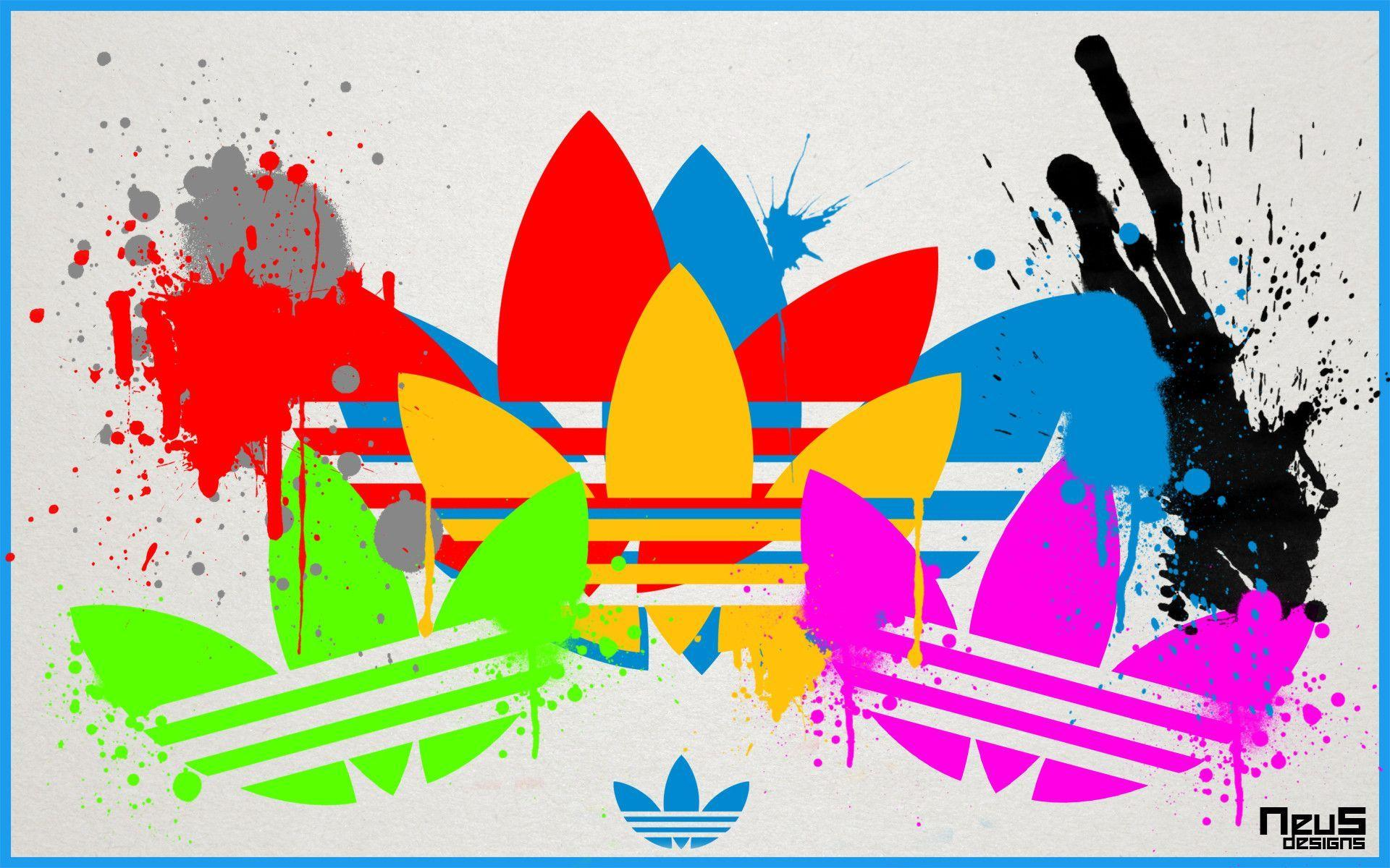 Images For > Adidas Original Logo Wallpaper