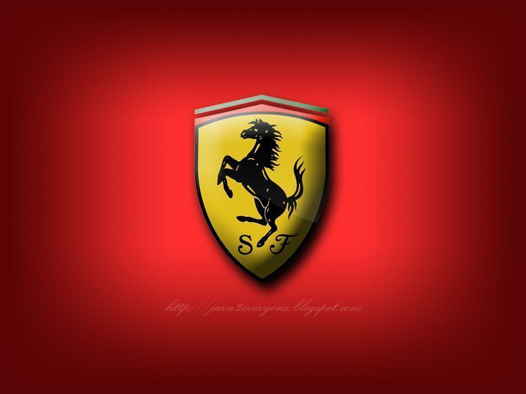 Ferrari Logo 3D Wallpaper HD Background #8831 Wallpaper | WallPict.
