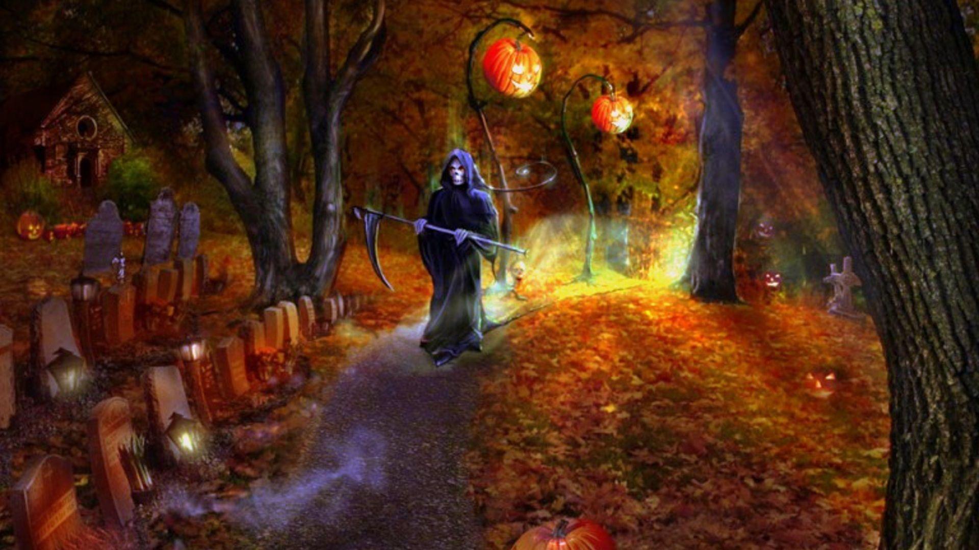 halloween wallpapers free - photo #35