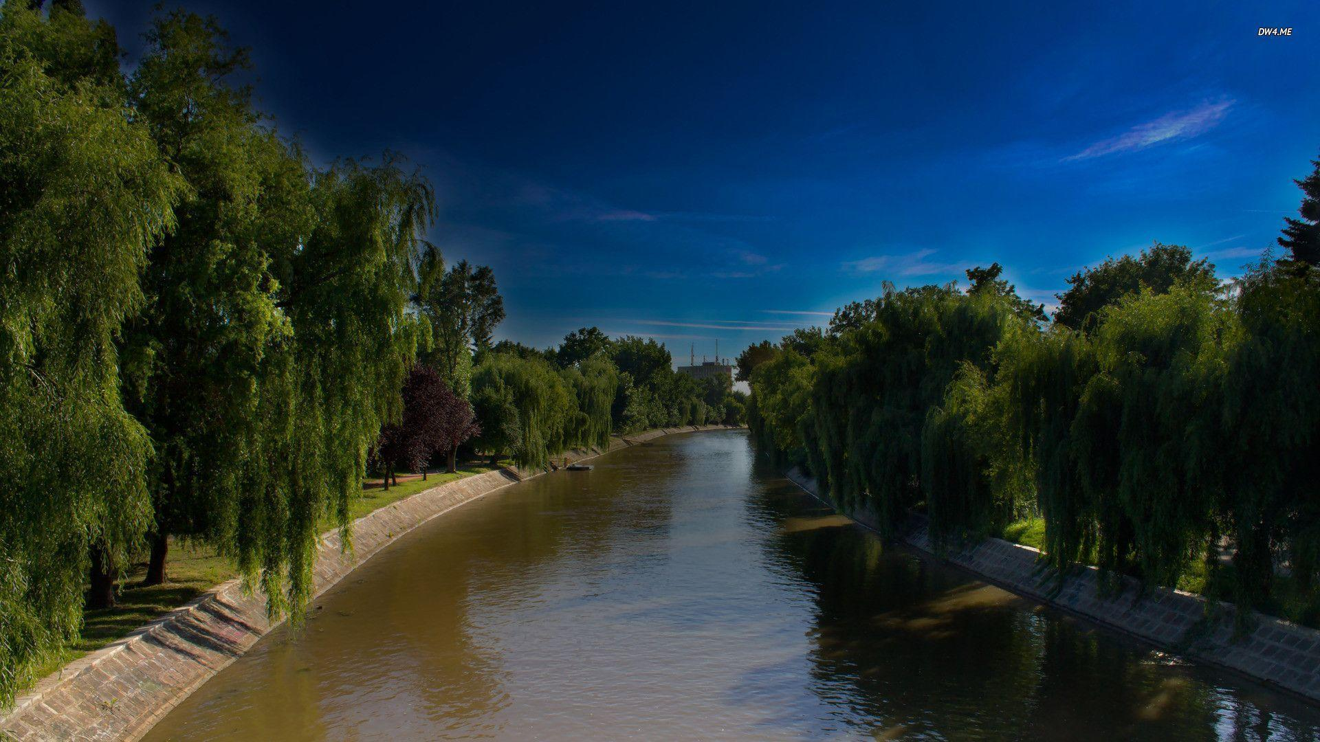 HD The Bega River In Serbia Wallpapers