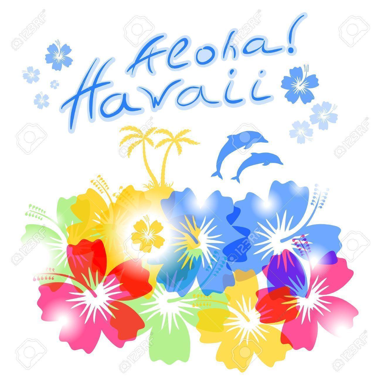 hawaiian flower backgrounds wallpaper cave