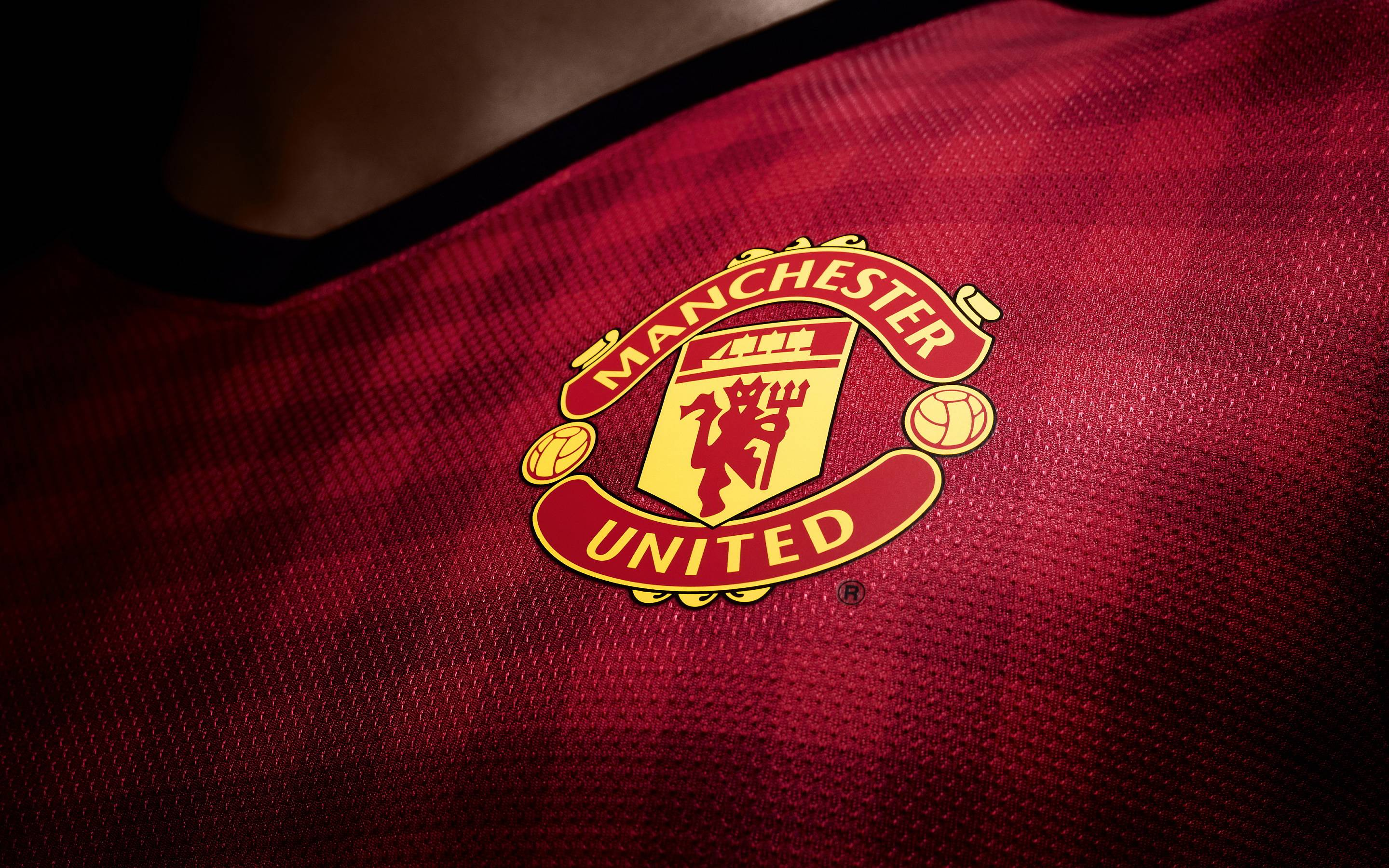 Manchester United Logo High Resolution Photo Desktop Backgrounds Free