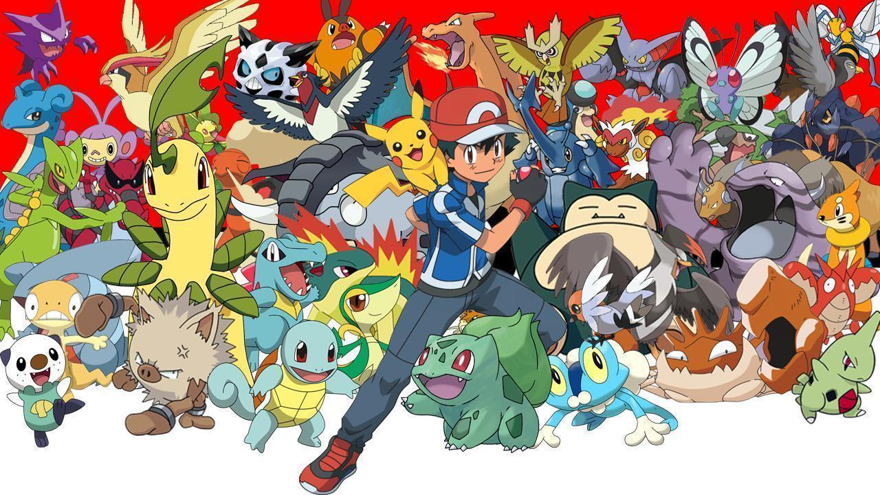 ash all pokemon wallpapers wallpaper cave
