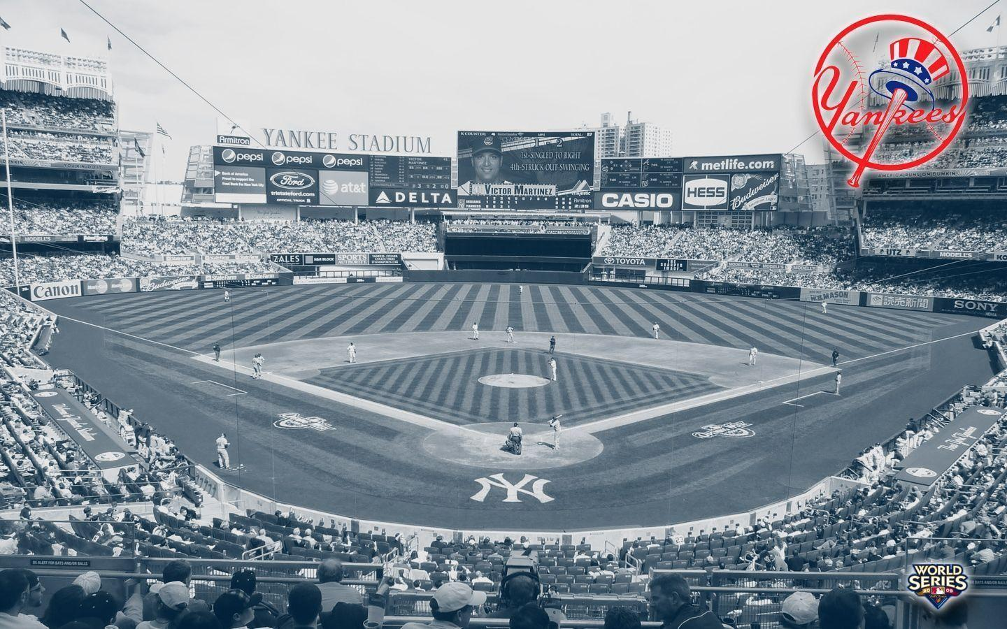 Images For > Yankees Stadium Wallpaper