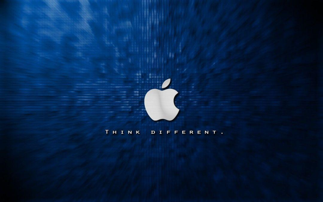 Cool Apple Logo Wallpapers Blue Hd Wallpaper HD Picture