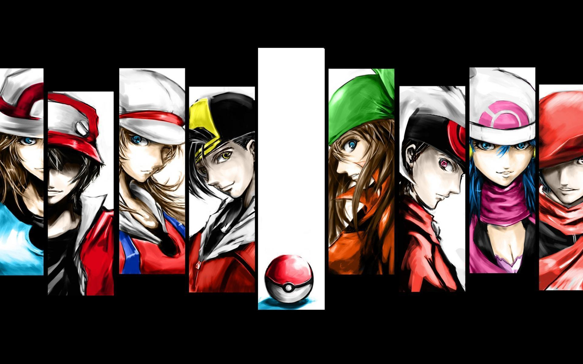 Pokemon Trainer Red Wallpapers - Wallpaper Cave