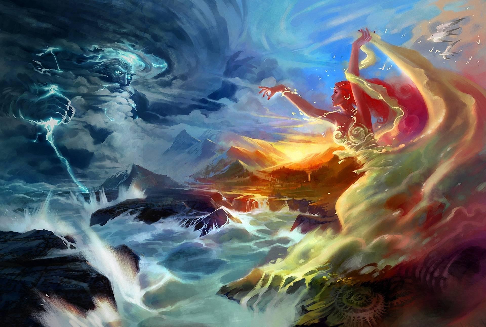 lightning art wallpaper - photo #47