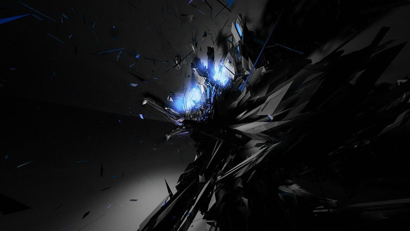 Black Blue Abstract Wallpapers Widescreen 2 HD Wallpapers