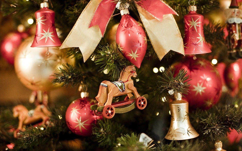 Colorful Christmas ornaments wallpaper 31208 - Christmas - Festival