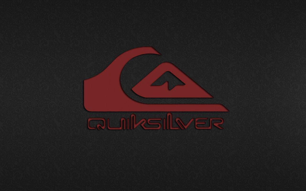 Quiksilver Logo On Black Wallpaper #2592 Wallpaper | Wallpaper ...
