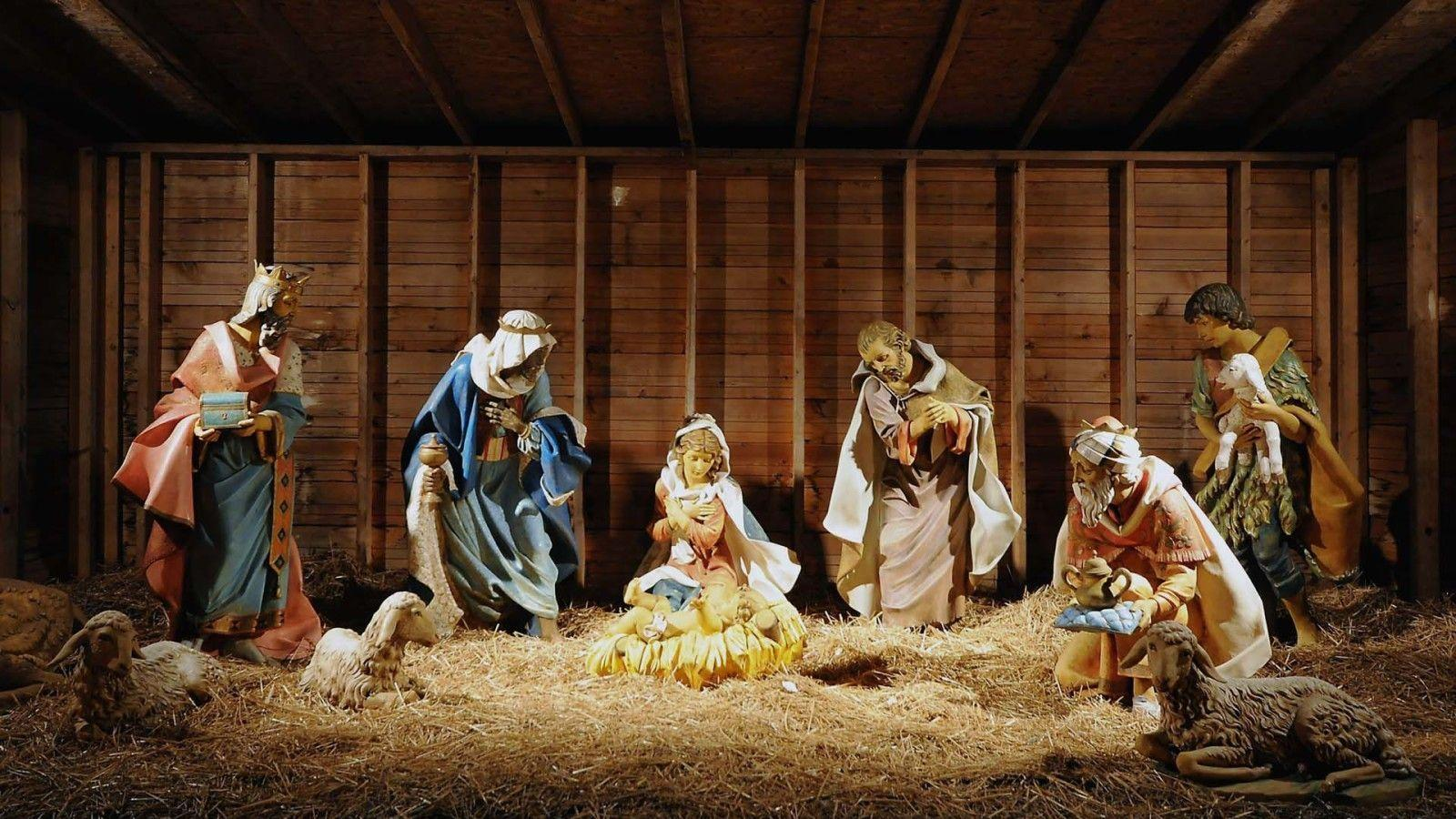 Christmas Nativity Scene Wallpapers for Desktop